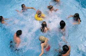 When the weather's hot and your pool is heavily used, check your chlorine readings more often. You can also find non-chlorine alternatives. Check out www.riptidealchemy.com